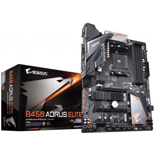 Gigabyte B450 Aorus ELITE AMD B450 Ryzen Socket AM4 ATX Desktop Motherboard