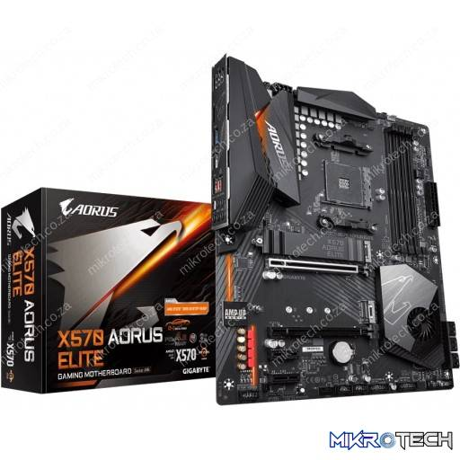 Gigabyte X570 Aorus ELITE AMD X570 Ryzen Socket AM4 ATX Desktop Motherboard