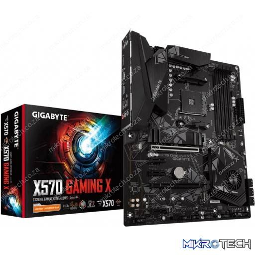 Gigabyte X570 Gaming X AMD AM4 X570 ATX Desktop Motherboard