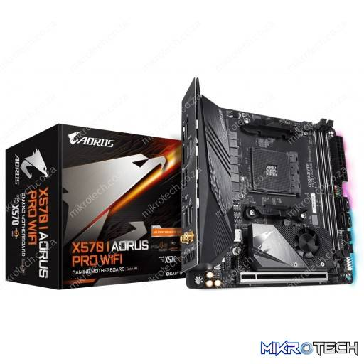 Gigabyte X570 I Aorus PRO WIFI AMD AM4 X570 Mini-ITX Desktop Motherboard