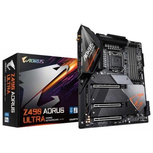 Gigabyte Z490 Aorus Ultra Intel Z490 Comet Lake LGA1200 ATX Desktop Motherboard