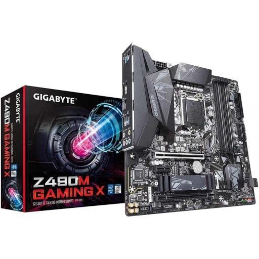 Gigabyte Z490M Gaming X Intel Z490 Comet Lake LGA1200 ATX Desktop Motherboard