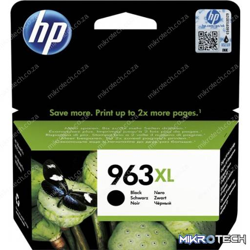 HP 3JA30AE 963XL Black Original Ink Cartridge