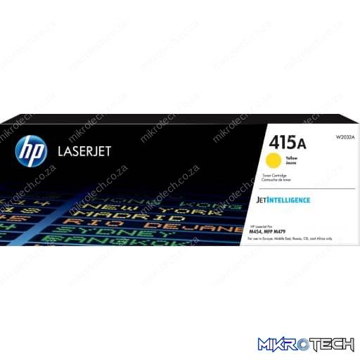 HP W2032A 415A Yellow Original LaserJet Toner Cartridge