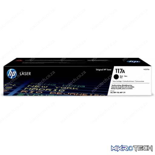 HP W2070A 117A Black LaserJet Toner Cartridge