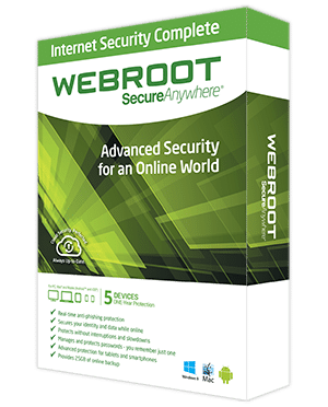 Webroot SecureAnywhere Complete - 5 User