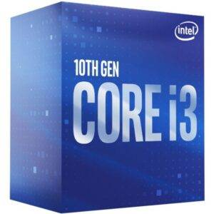 Intel BX8070110300 Core i3-10300 Quad Core 3.7GHz (4.4GHz Turbo) 14nm Comet Lake Socket LGA1200 Desktop CPU