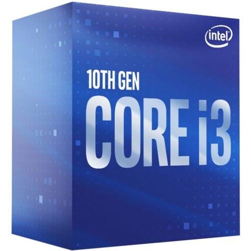 Intel Core i3-10300 Quad Core 3.7GHz (4.4GHz Turbo) 14nm Comet Lake Socket LGA1200 Desktop CPU