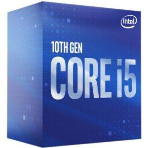 Intel BX8070110600 Core i5-10600 Hexa Core 3.3GHz (4.8GHz Turbo) 14nm Comet Lake Socket LGA1200 Desktop CPU