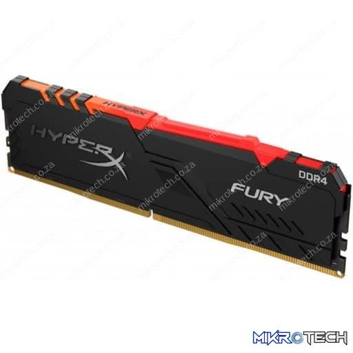 Kingston HyperX Fury 8GB (1x8GB) DDR4-2666MHz CL16 1.2V Black Desktop Memory