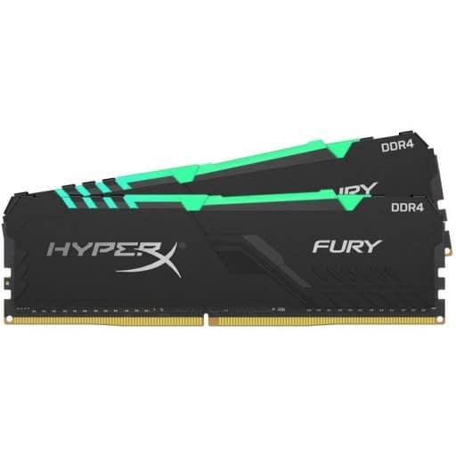 Kingston HyperX Fury 32GB (2x16GB) DDR4-2400MHz CL15 1.2V Black Desktop Memory