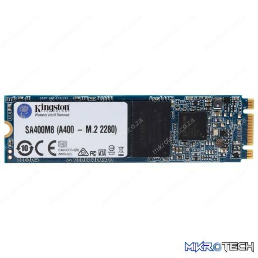 Kingston SSDNOW A400 120GB M.2 2280 SATA 6Gb/s Solid State Drive