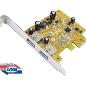 Sunix USB2302 USB3.0 Dual Ports PCI Express Host Controller