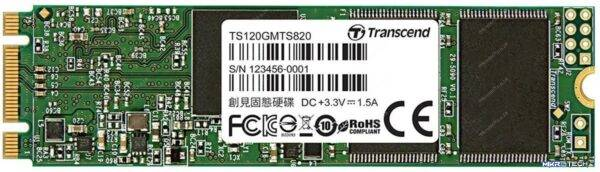 Transcend TS120GMTS820S 820S 120GB M.2 (2280) SATA 6GB/s SSD