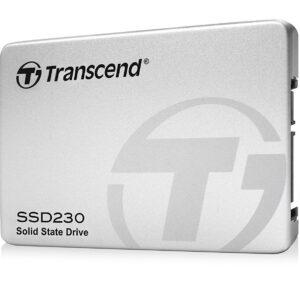 """Transcend TS128GSSD230S SSD230 128GB SATA III 6Gb/s 3D NAND 2.5"""" Solid State Drive"""
