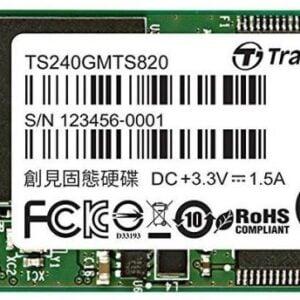 Transcend TS240GMTS820S 820S 240GB M.2 (2280) SATA 6Gb/s SSD
