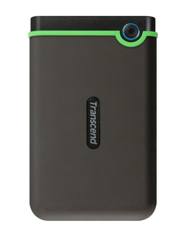 "Transcend TS2TSJ25M3S StoreJet 25M3 2TB 2.5"" USB 3.1 Iron Grey Portable External Hard Drive"