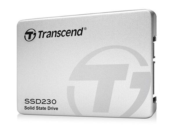"""Transcend TS512GSSD230S SSD230 512GB SATA III 6Gb/s 3D NAND 2.5"""" Solid State Drive"""