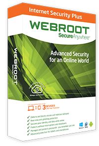 W ebroot SecureAnywhere Internet Security Plus - 3 User