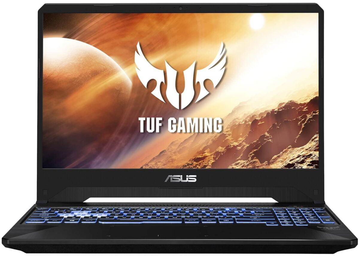 "Asus TUF Gaming AMD Ryzen 7 3750H 2.3GHz Quad Core 15.6"" Full HD (1920x1080) IPS-Level Anti-Glare 16GB (1x16GB) DDR4-2400MHz NVIDIA GeForce GTX 1650 4GB GDDR5 512GB M.2 PCIe SSD Windows 10 64-bit Stealth Black Gaming Notebook"