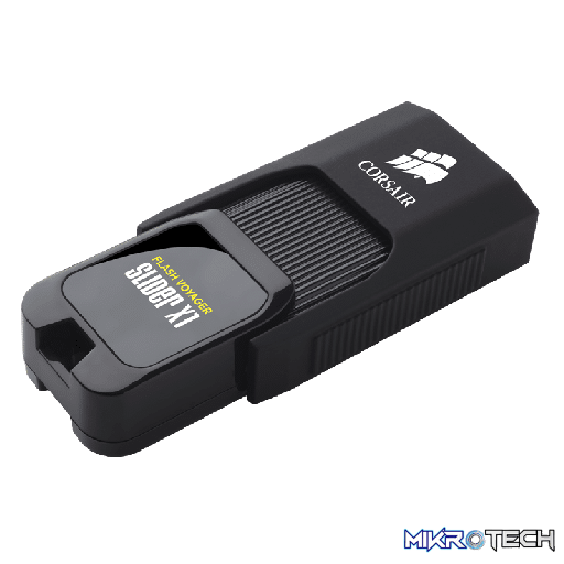 Corsair CMFSL3X1-128GB Flash Voyager Slider X1 USB 3.0 128GB USB Flash Drive