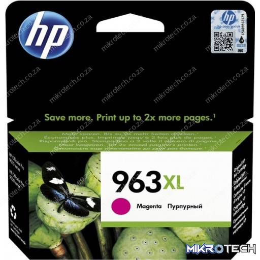 HP 3JA28AE 963XL Magenta Original Ink Cartridge