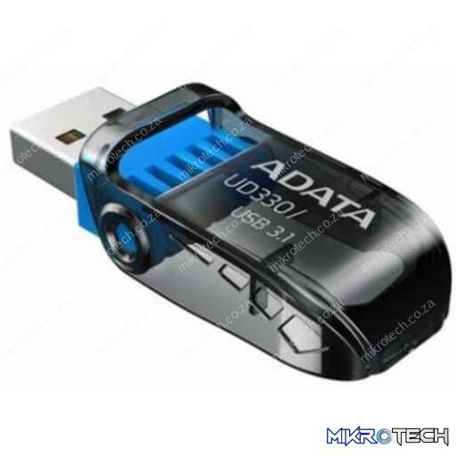 Adata UD330 32GB USB 3.1 Black Flash Drive