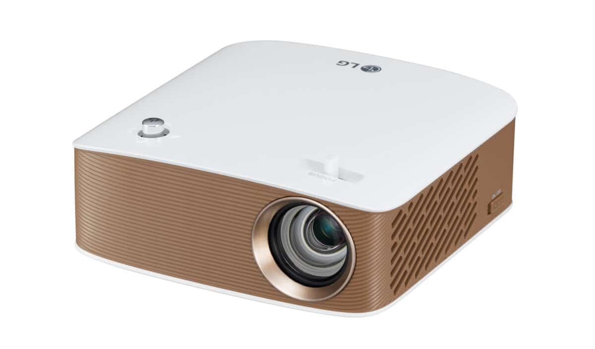 LG PH150G Portable 130 Lumen Wireless Mini LED Projector