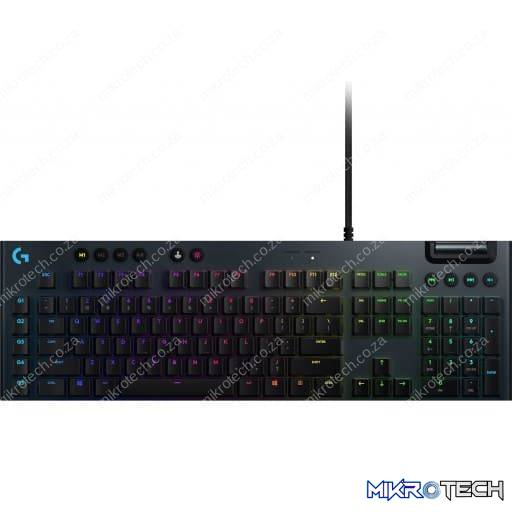 Logitech G815 Lightsync RGB Low-Profile GL Clicky Mechanical Gaming Keyboard