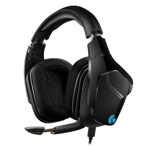 Logitech G635 7.1 Virtual Surround Sound LightSync Black Gaming Headset