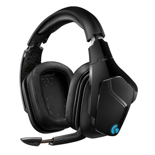 Logitech G935 7.1 Virtual Surround Sound LightSync Black Wireless Gaming Headset