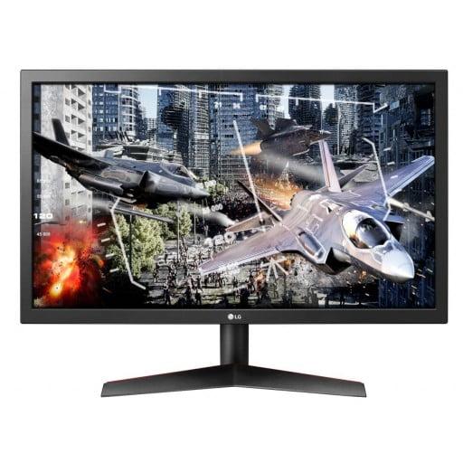 "LG 24GL600F-B 24"" Full HD (1920x1080) 144Hz 1ms TN FreeSync Gaming Desktop Monitor"