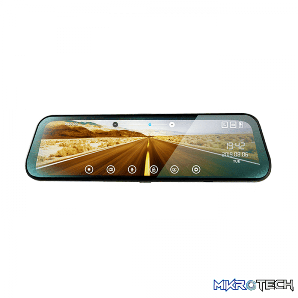 OneX 9.66inch Rear View Monitor with DVR (Camera Optional)