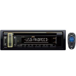 JVC KD-T408 1-DIN CD Receiver