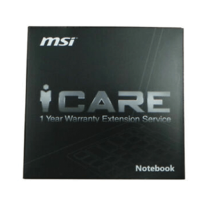MSI GAMING 1 YEAR EXTENDED WARRANTY