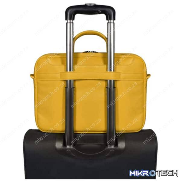 PORT TOP LOADER NOTEBOOK BAG ZURICH YELLOW 14 INCH 1 YEAR CARRY IN WARRANTY