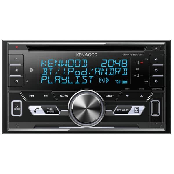 Kenwood DPX-5100BT Bluetooth/MP3/USB/AUX CD Receiver
