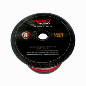 Energy Audio 8 Gauge Power Cable Per Metre
