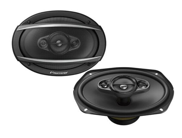 """Pioneer TS-A6980F 650W 4-Way 6x9"""" Speakers"""
