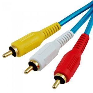 Astrum 3RCA AV 5.0M Composite Cable