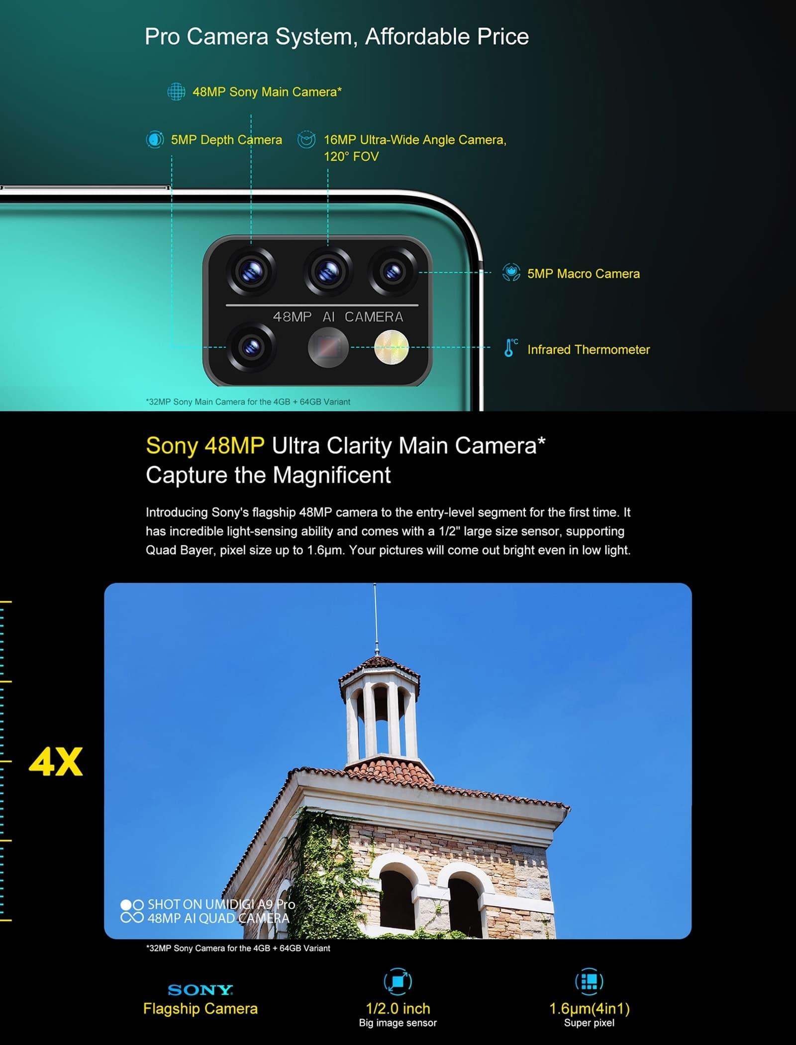 Umidigi A9 Pro Android Smartphone