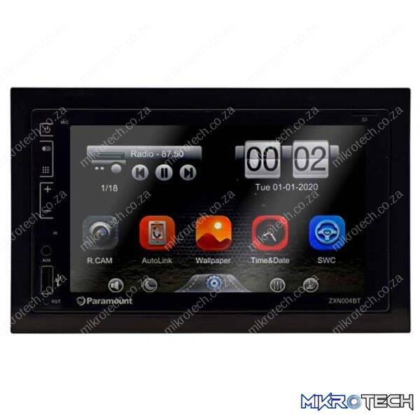 Paramount ZX004BT-LE 6.2 Touch Screen Bluetooth USB AUX Media Player