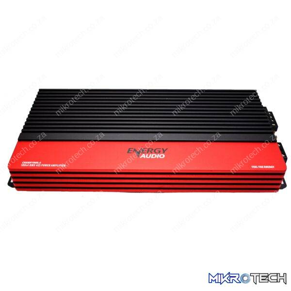 Energy Audio CHAMP7000.4 100Wx4 RMS 4-Channel Amplifier