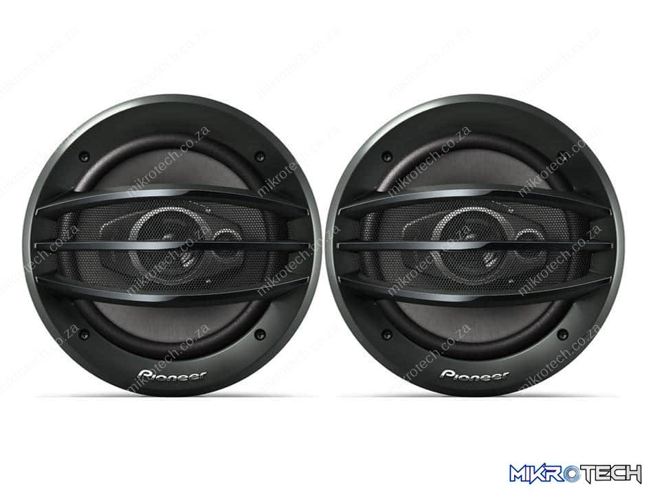 """Pioneer TS-A2013i 500W 3-Way Limpid 8"""" Speakers"""