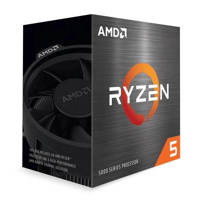AMD Ryzen 5600X CPU - AMD Ryzen 5 6-core Socket AM4 3.7GHz Processor 100-100000065BOX