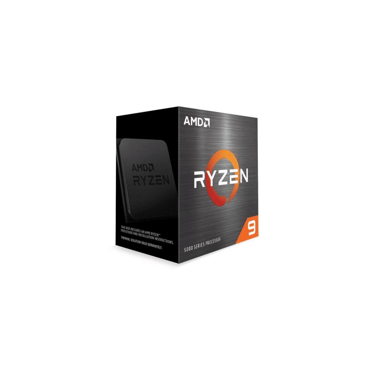 AMD Ryzen 5950X CPU - AMD Ryzen 9 16-core Socket AM4 3.4GHz Processor 100-100000059WOF