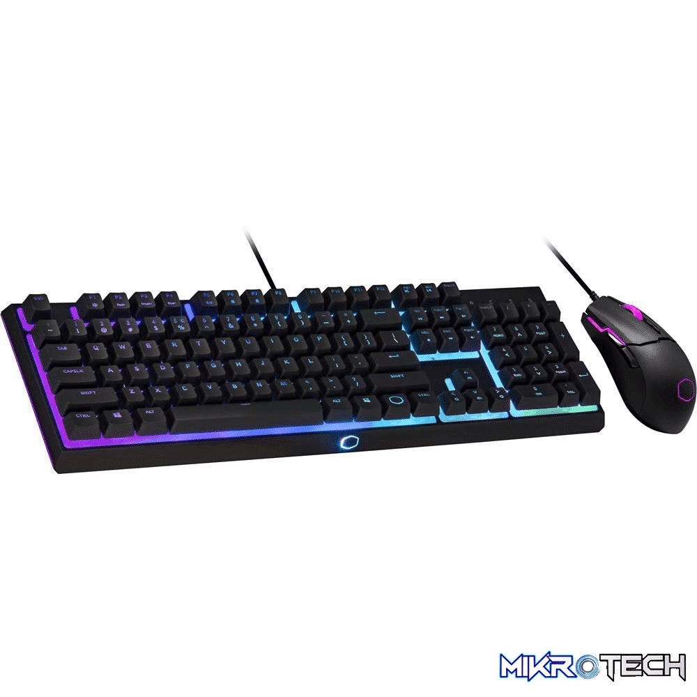 Cooler Master Gaming MS110 Keyboard and Mouse Combo Black MS-110-KKMF1-US