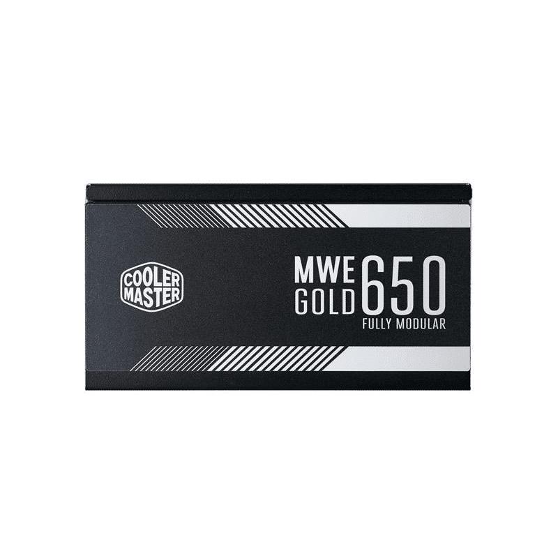 Cooler Master MWE Gold 650 80 PLUS Gold 650W 20+4 pin ATX Black Power Supply MPY-6501-AFAAG-WO
