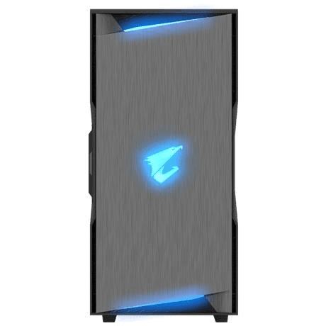 GIGABYTE AORUS C300 GLASS Midi Tower Black Gaming PC Case GB-AC300G