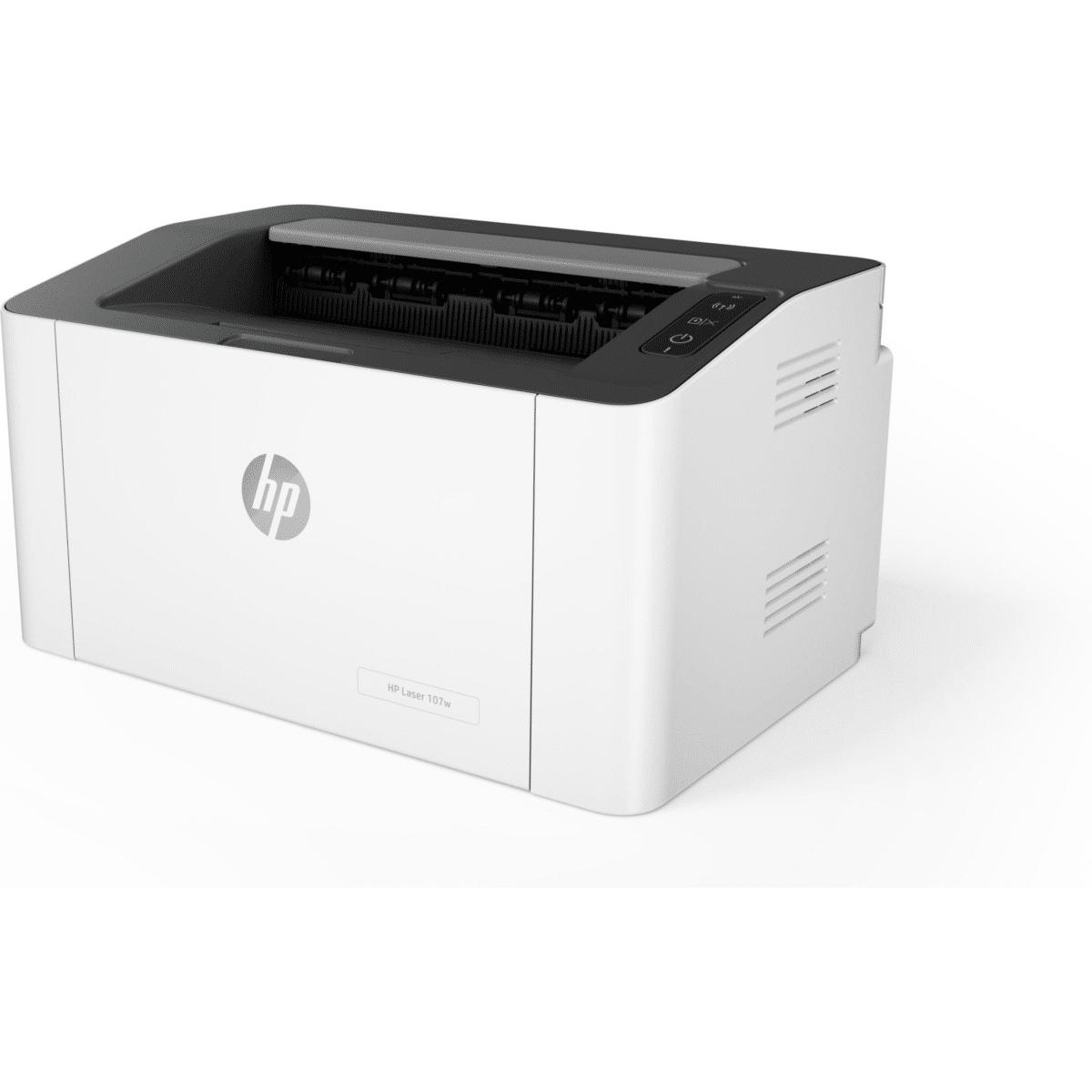 HP Laser 107w Mono A4 Duplex Laser Printer 4ZB78A